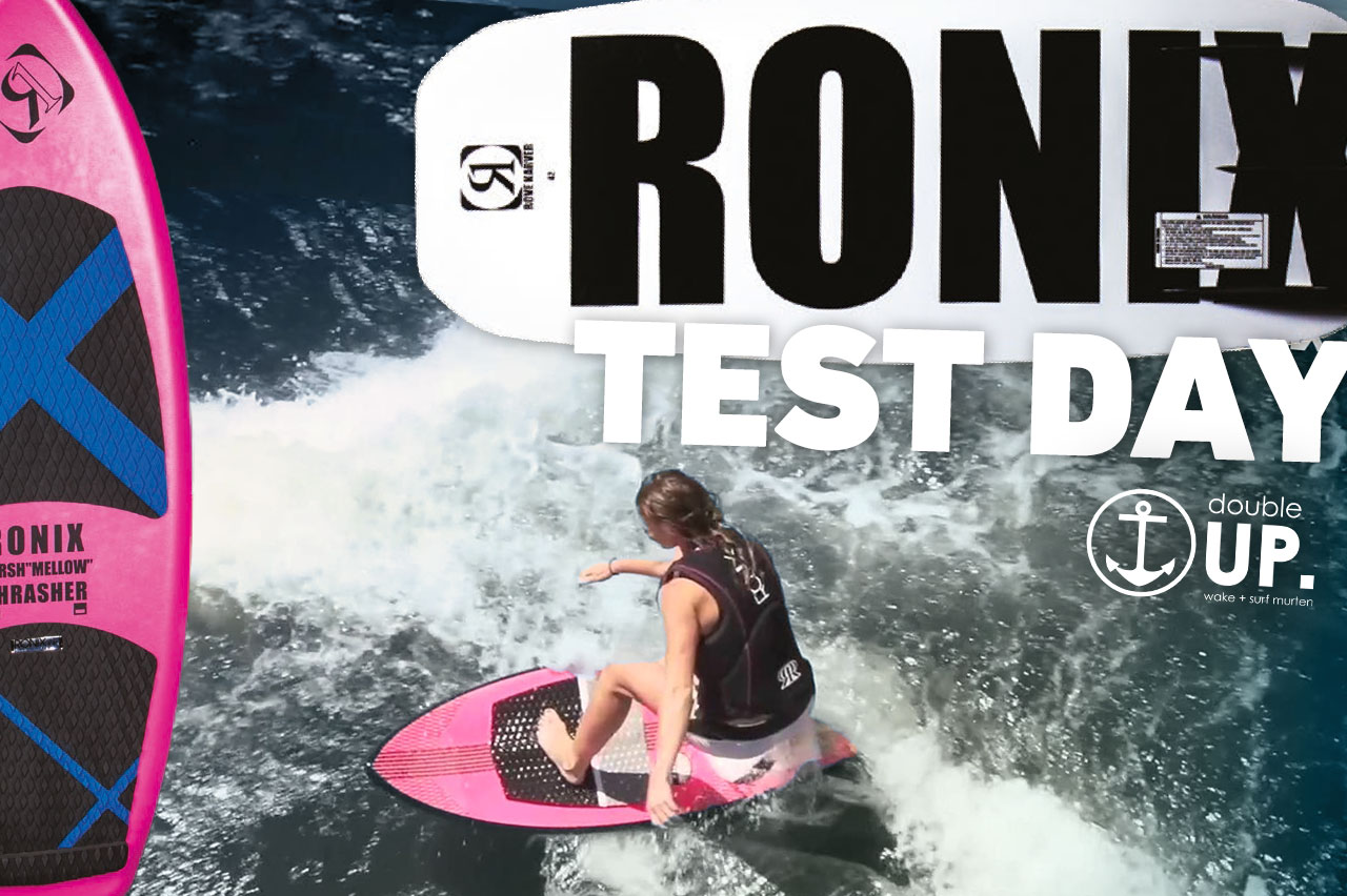 Ronix Test Day bei doubleUP wake und surf Murten